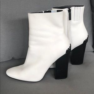 Kendall + Kylie Haedyn Two-Tone Leather Booties